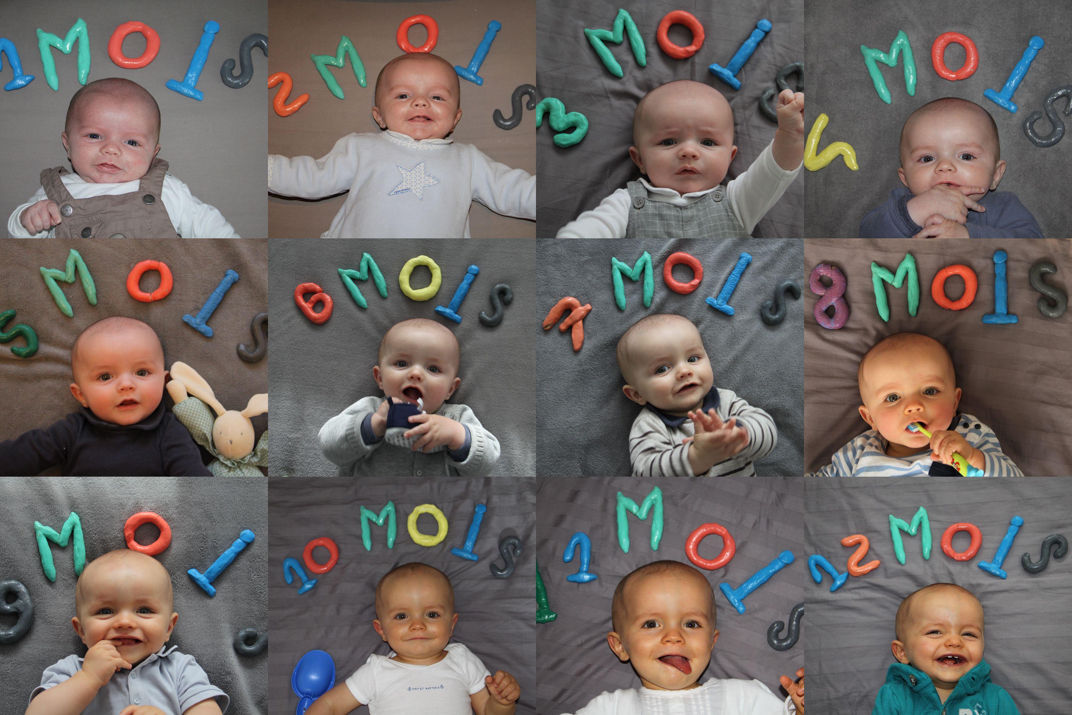 Idée Photo Bébé 1 Mois