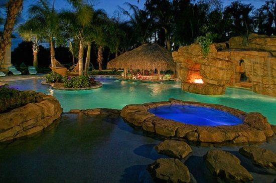 50 Backyard Swimming Pool Ideas Swimming Pools Backyard Custom