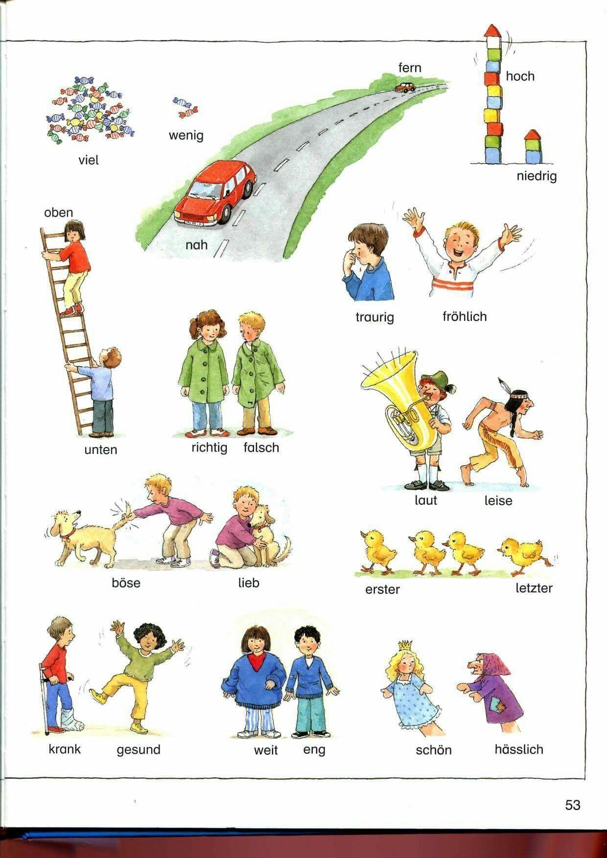 20 Deutsch Lernen Fur Kinder Arbeitsblatter