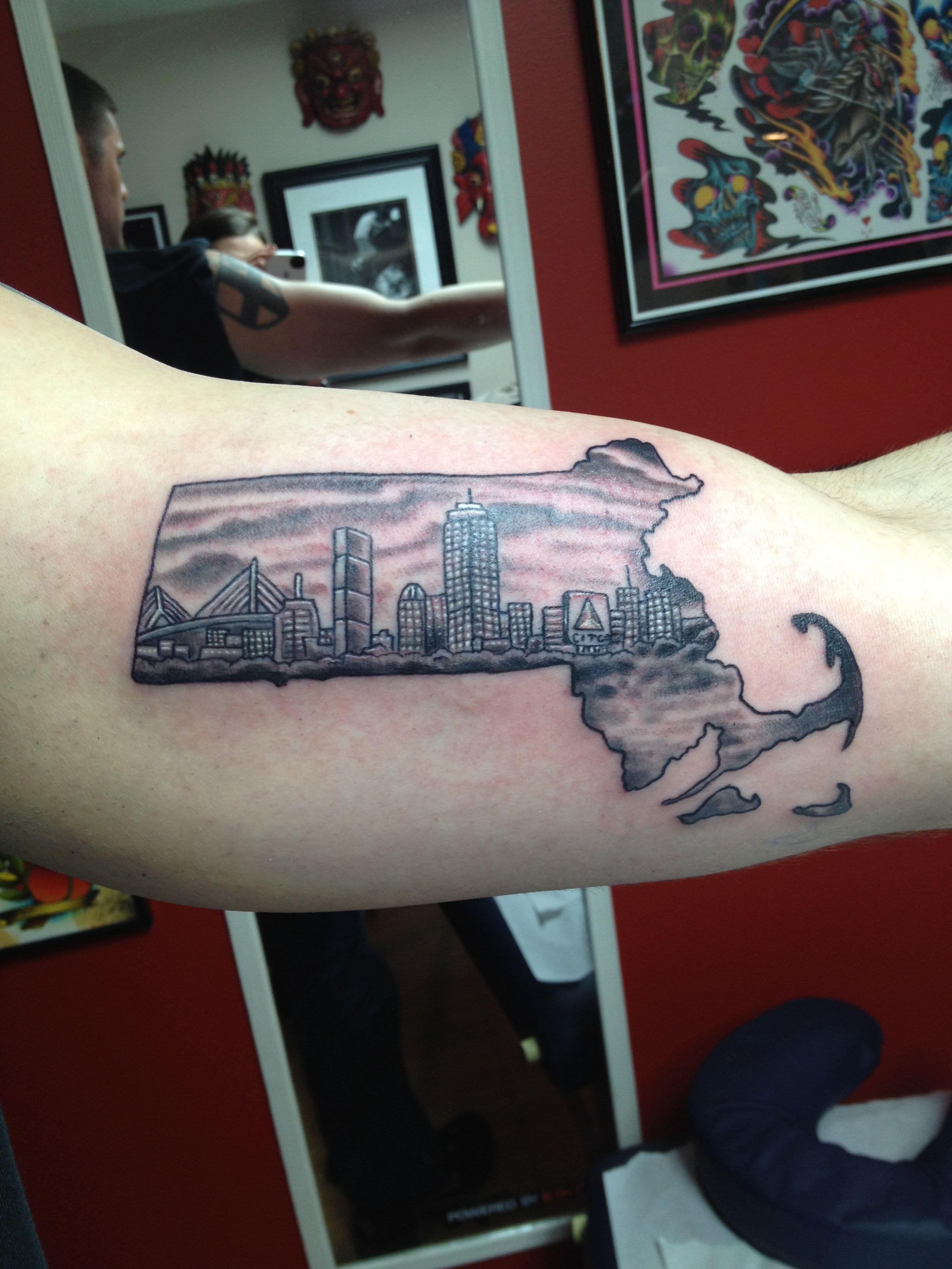 Massachusetts tattoo | Tatt ideas | Massachusetts tattoo, Tattoos ...