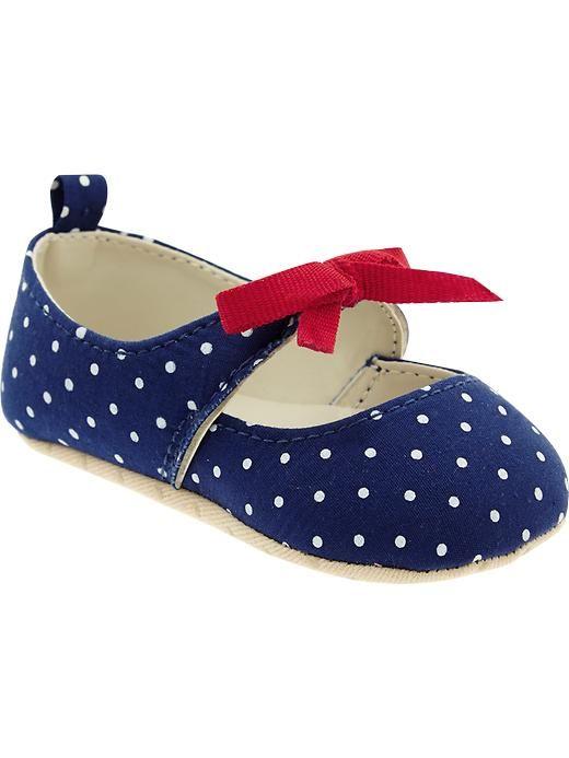 c32f71e6a95 Polka-Dot Ballet Flats for Baby