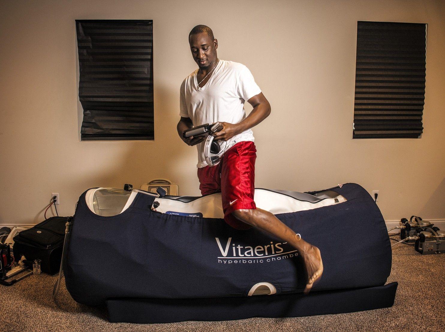 Washington Nationals Rafael Soriano Uses Hyperbaric Chamber To Reach Rarefied Air Among Closers Hyperbaric Oxygen Therapy Oxygen Therapy Therapy