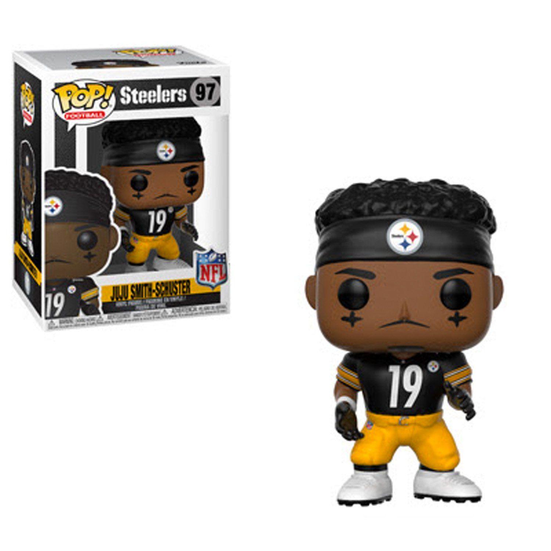 Funko Nfl Pittsburgh Steelers Ju Ju Smith Schuster Pop Vinyl Figure 97 Pre Order Ships Summer 2018 Steelers Nfl Steelers Nfl