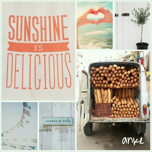 Moodboard | Sunshine #anke