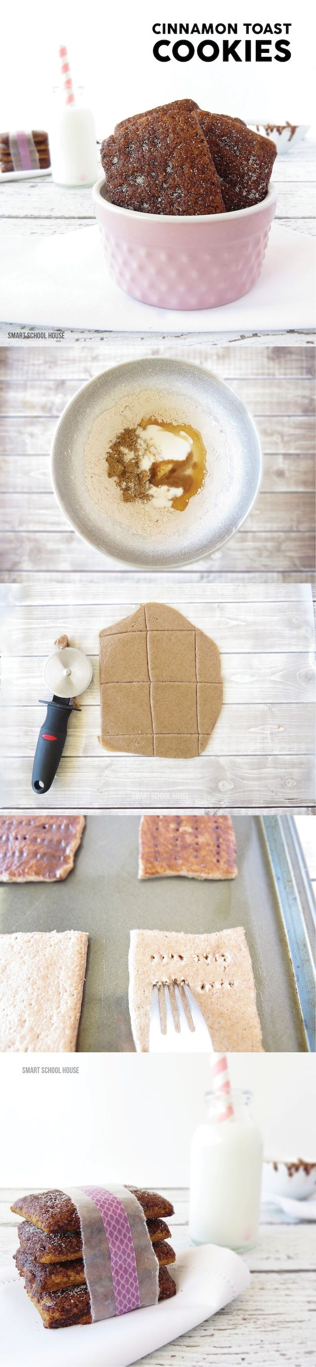 Easy recipe for Cinnamon Toast Cookies