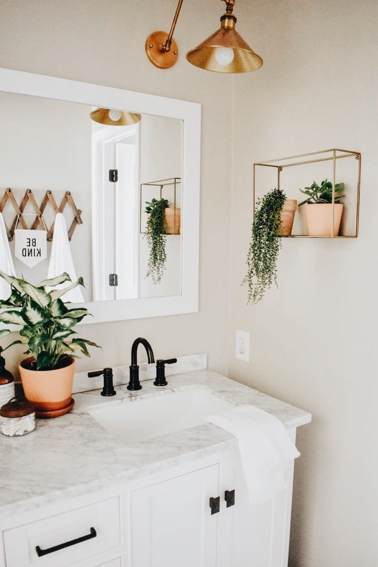 Photo of Modern Boho Bathroom Remodel – House On Longwood Lane