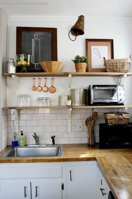 The 19 Most Incredible Small Spaces On Pinterest Kitchen Remodel Small Diy Kitchen Remodel Kitchen Design Small