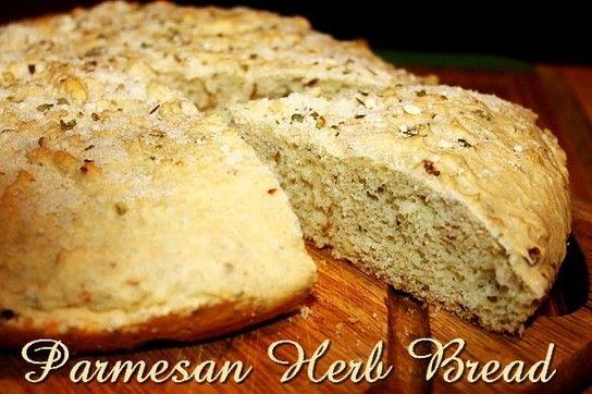 Parmesan Herb Bread http://www.momspantrykitchen.com/parmesan-herb-bread.html