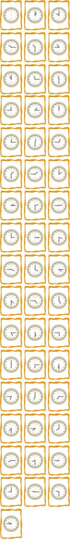 Flashcards For Telling Time Requires A Download Of A