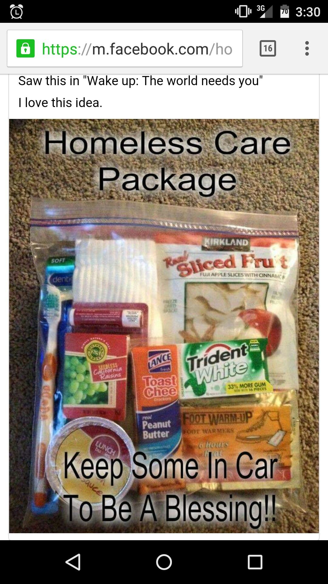 Pin by Carole T on Good things for others Homeless care
