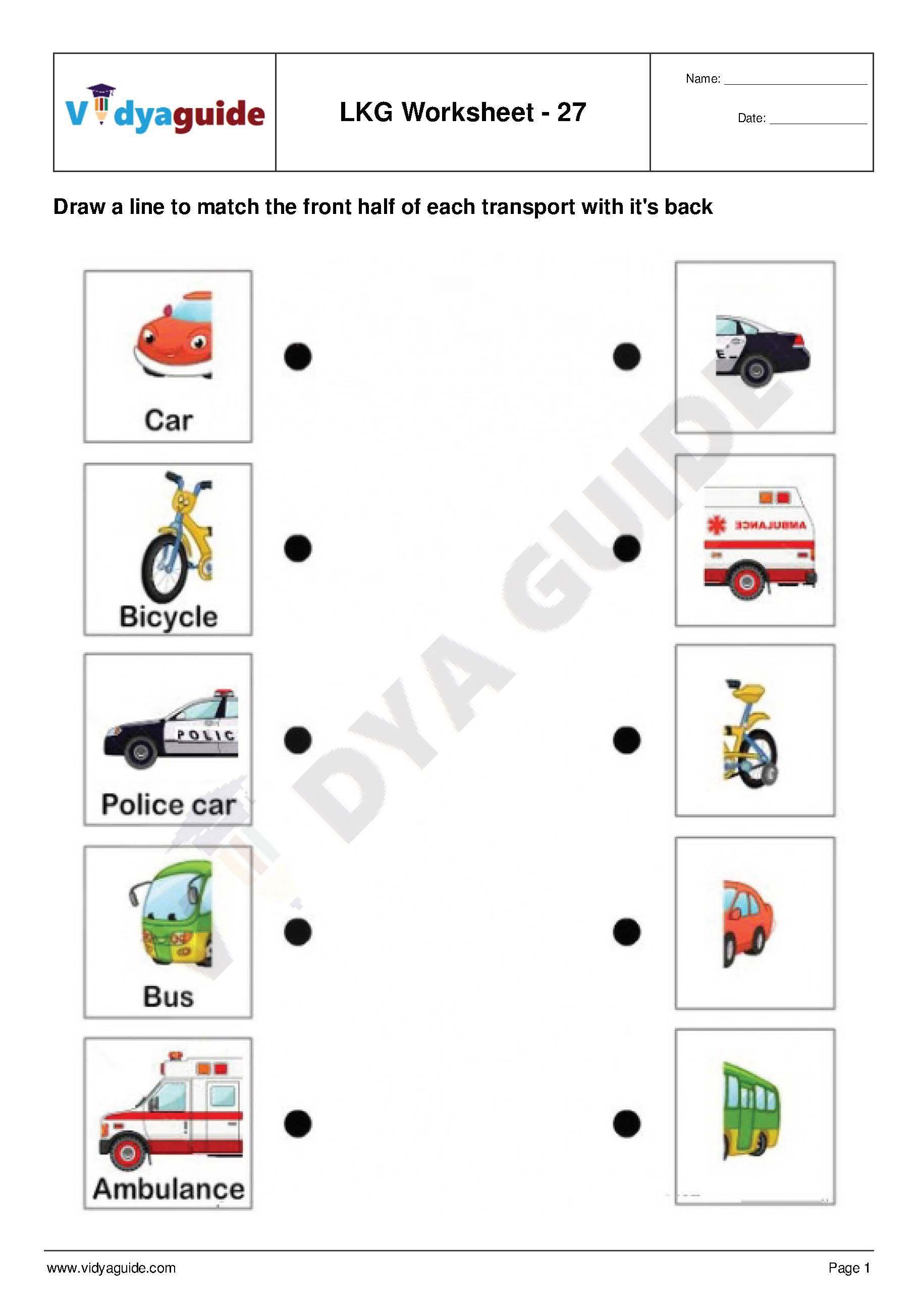 Lkg Worksheets Set 06