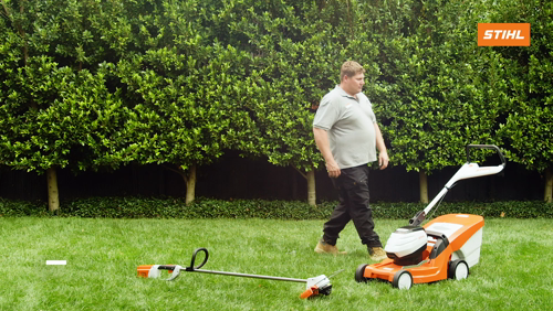 Make sure your lawn survives the change in season. Mowing