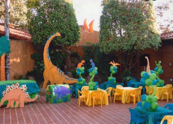 Decoraci n fiesta dinosaurio dinosaur decoraci n party - Adornos de fiestas ...