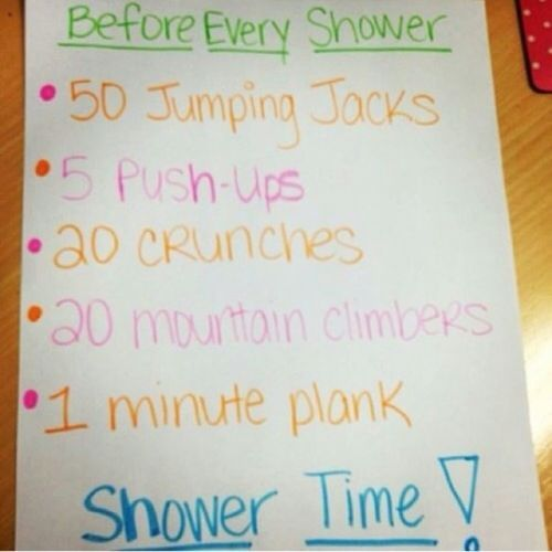 Any chance for exercise shared by fit4life on We Heart It