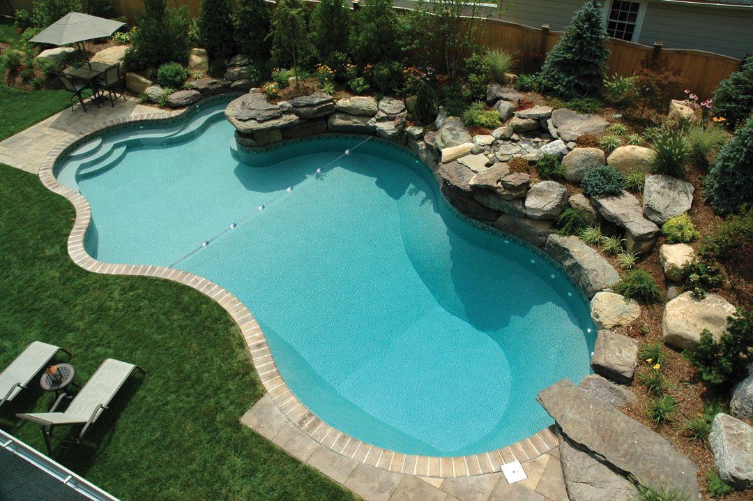 Inground Pool Mountain Lake - Pool & Hot Tub Village | pools ...