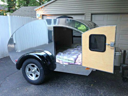 Details about 2015 Home build | Vintage camping | Teardrop
