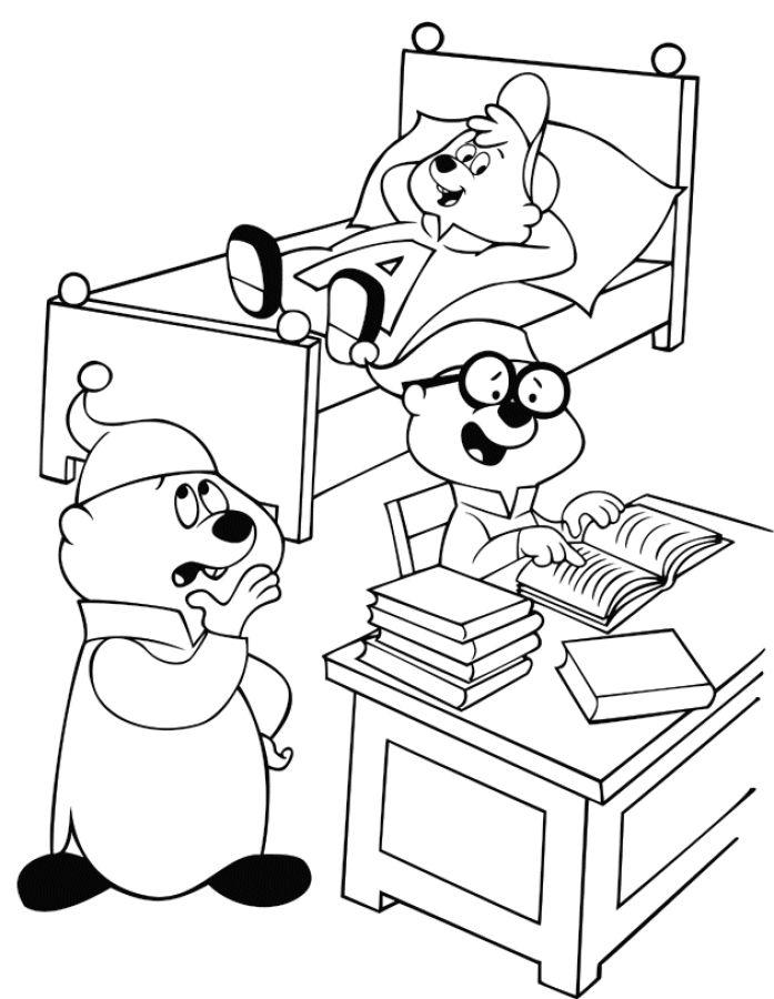 Dibujos para Colorear Alvin y las Ardillas 9 | Dibujos para colorear ...