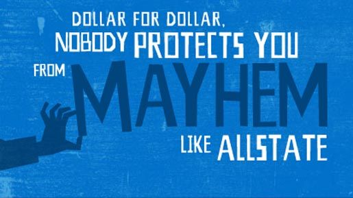 Allstate Auto Quote Gorgeous Allstate Mayhem Is Everywhere Decorating Inspiration