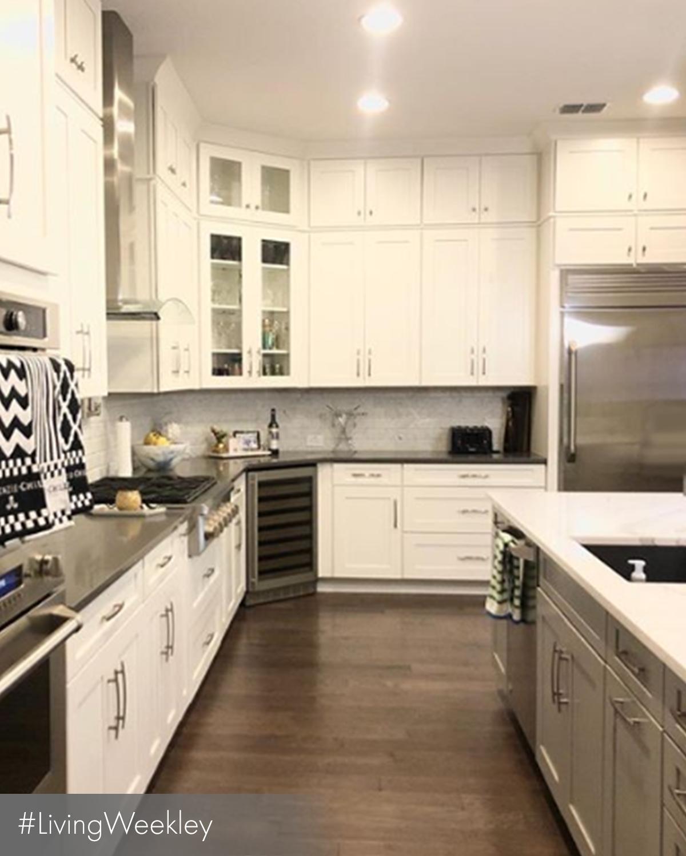 Upper Cabinet Display Kitchen Inspiration Kitchen Trends In 2020 Farmhouse Kitchen Decor Kitchen Trends Upper Kitchen Cabinets