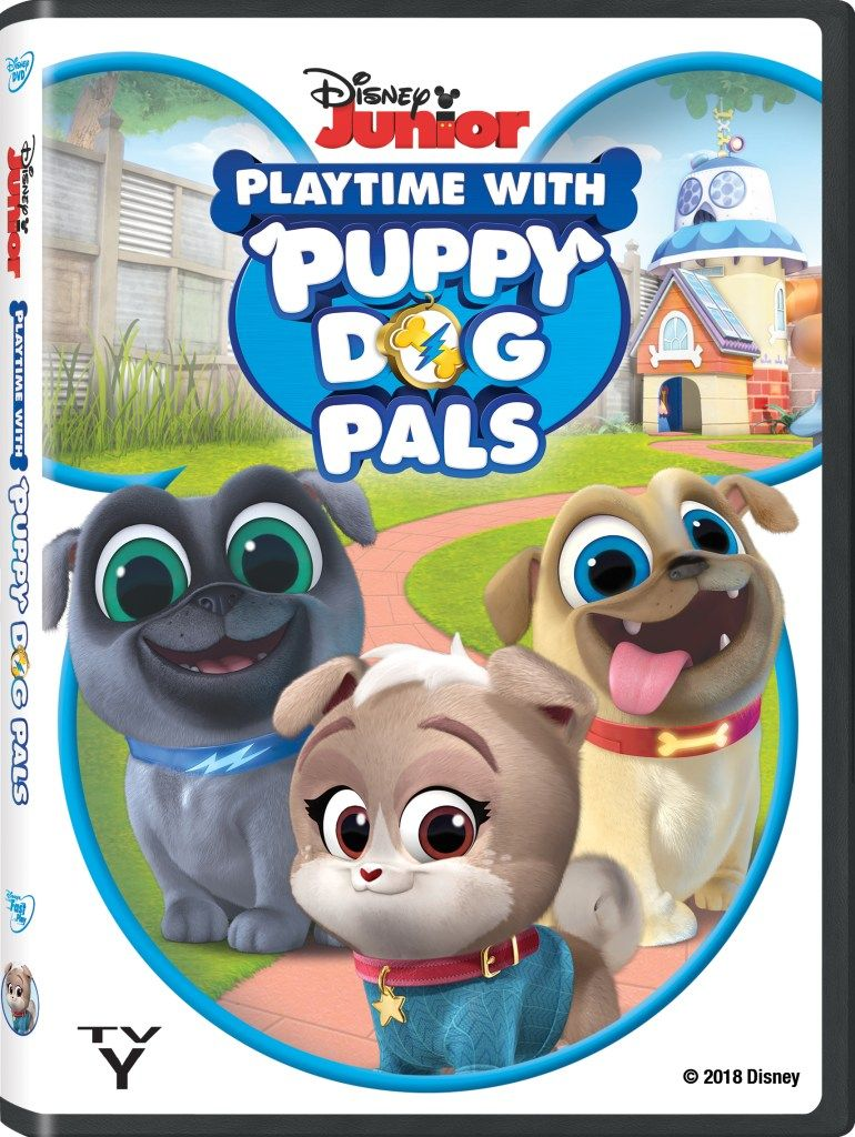 Playtime With Puppy Dog Pals Dvd Review Dogs And Puppies Disney