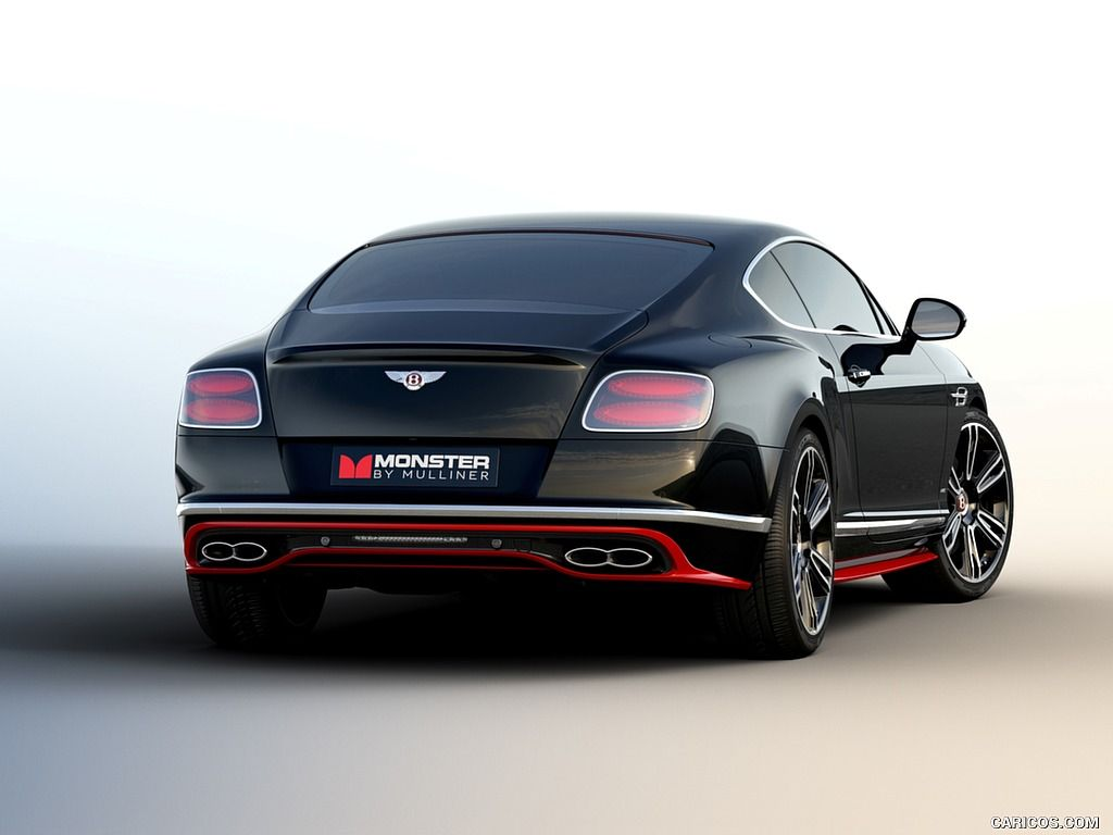 2016 Bentley Continental GT V8 S Monster by Mulliner - Rear ...