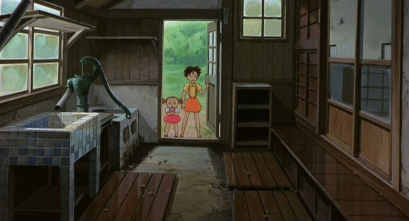 The Kusakabe's House | My neighbor totoro, Totoro, Japanese animated movies