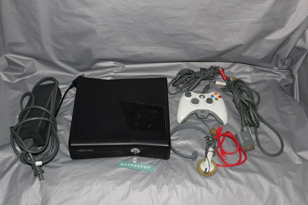 Microsoft Xbox 360 Slim 20gb Hdd Custom Video Game Console 1439 With Forza 2 Microsoft Xbox360slim Xbox 20gb Videogame F Video Game Console Xbox Xbox 360