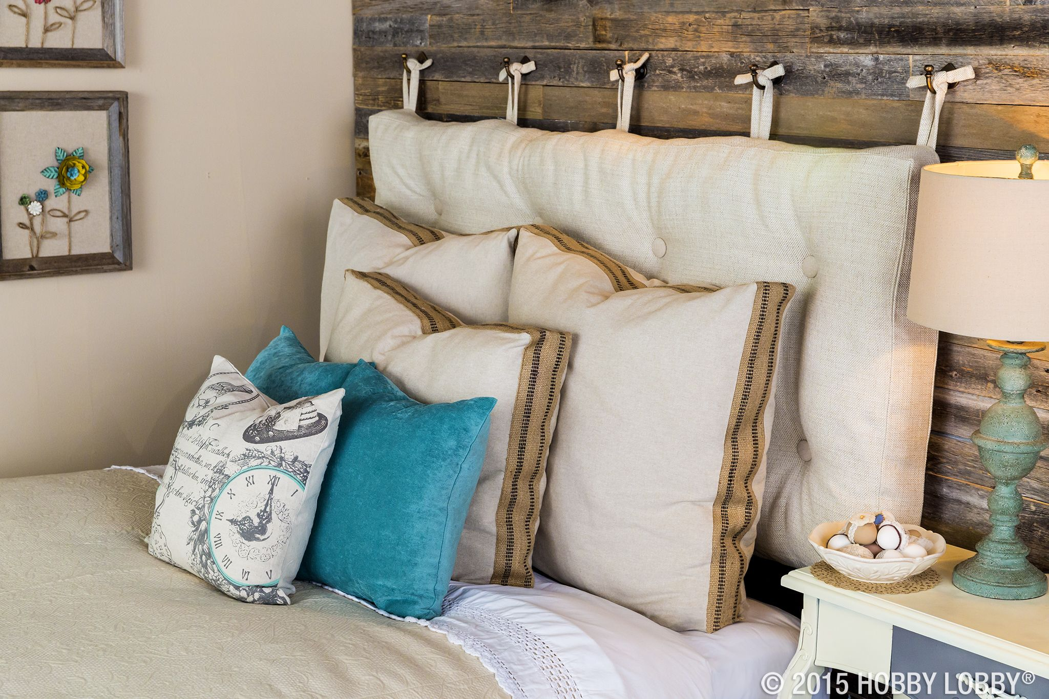these pre made pillow covers will accentuate your shabby chic style
