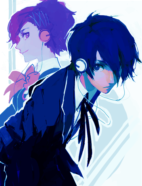 Persona 4) aiden and annie | OC'S | Persona 3 portable, Persona 4