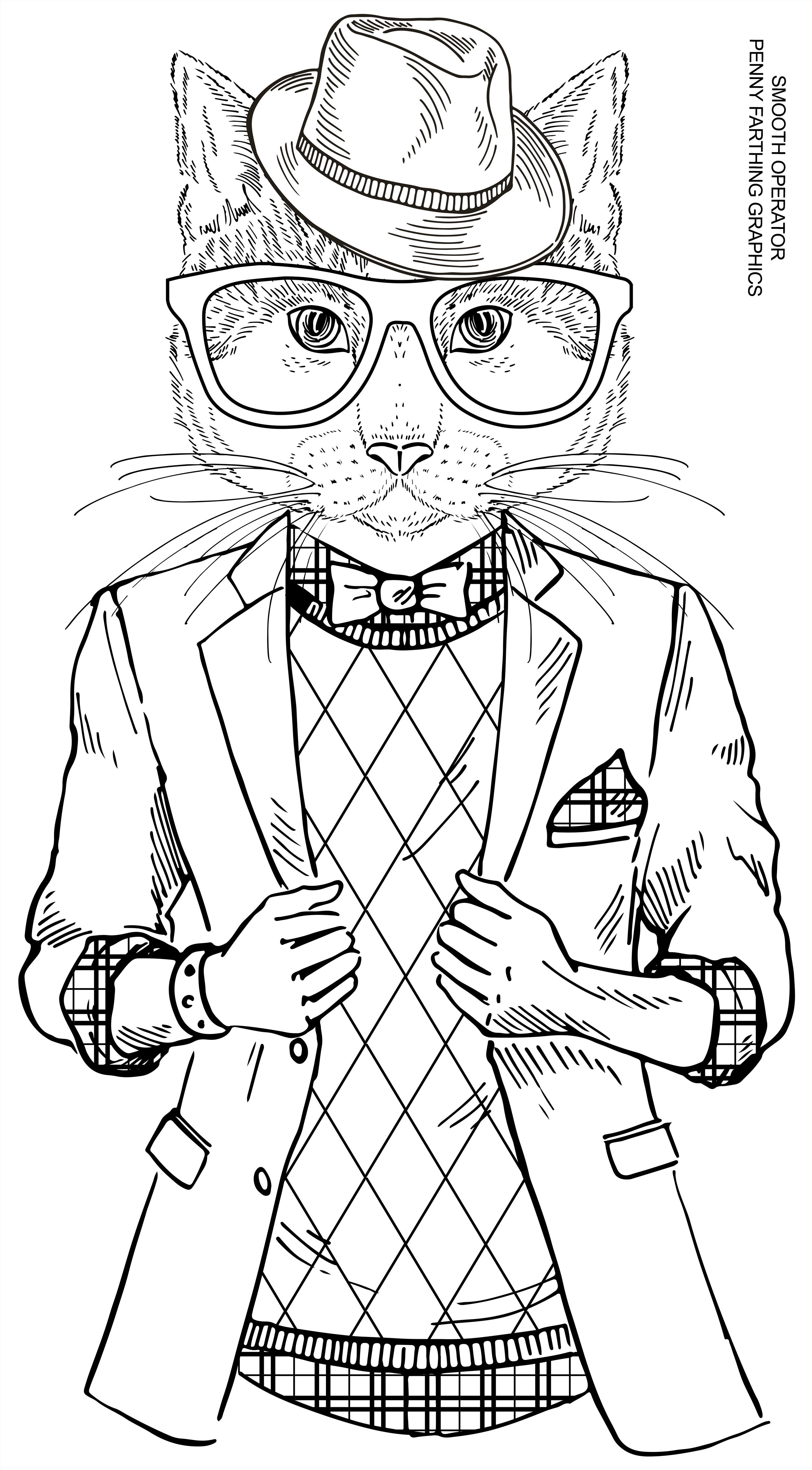 """Cat from """"Smooth Operator"""" 