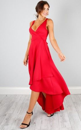 Magic Dancer Dress In Red Showpo Pinterest Dress Formal