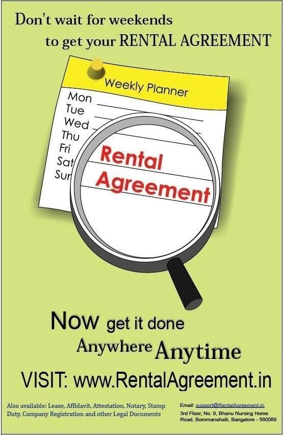 Do You Know You Can Get Rental Agreement At Your Doorstep For