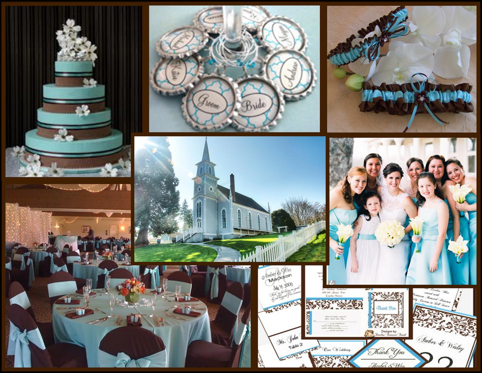 tiffany blue wedding Chocolate and Blue Wedding Theme Tiffany Chocolate board