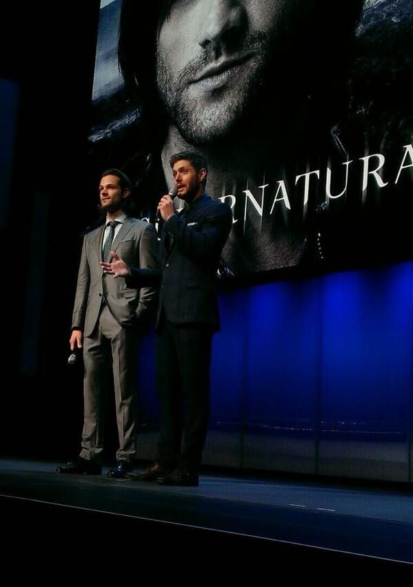 More #J2 on stage at the #CWUpfronts