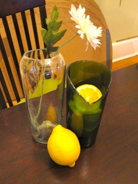 How To Turn Wine Bottles Into Custom Vases Diy Wedding Tutorials