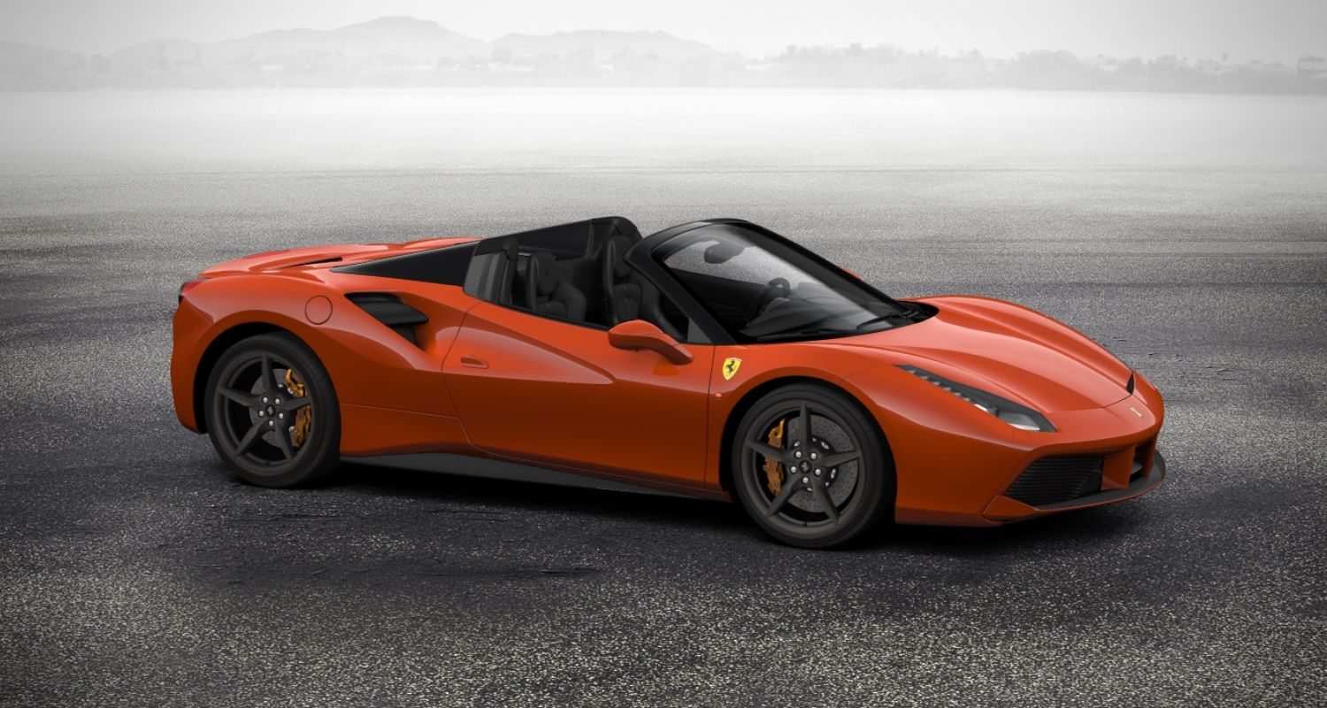 build your own 488 spider | ferrari official website | cars