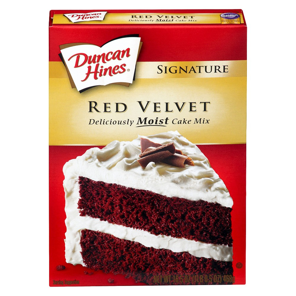 Duncan Hines Red Velvet Cake Mix 16 5 Oz Cake Mix Red Velvet Cake Mix Red Velvet Sandwich Cookies