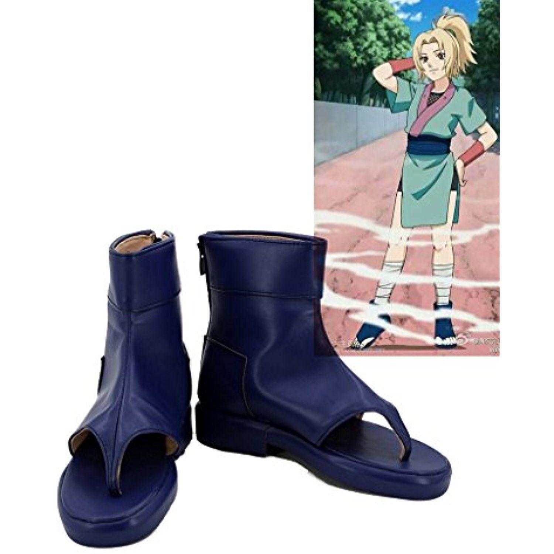 NARUTO Anime Tsunade Cosplay Shoes Boots Custom Made