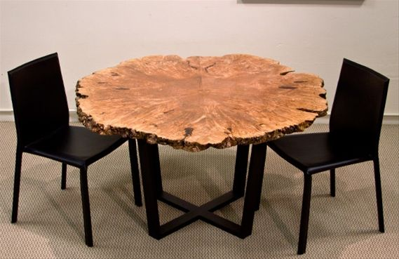 Urban Hardwoods Furniture Seattle Maple Burl Dining Table