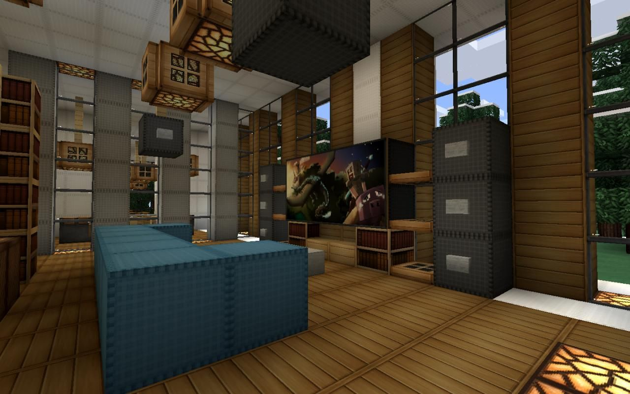 31++ Living room decorations minecraft ideas in 2021