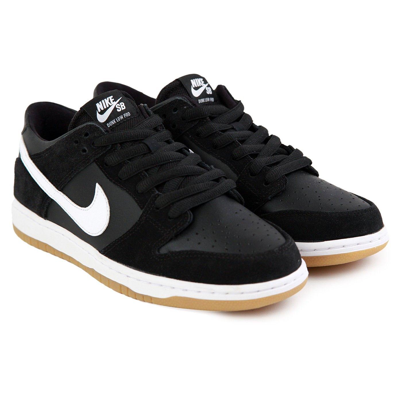 Nike Sb Dunk Negro De Lona Bajos