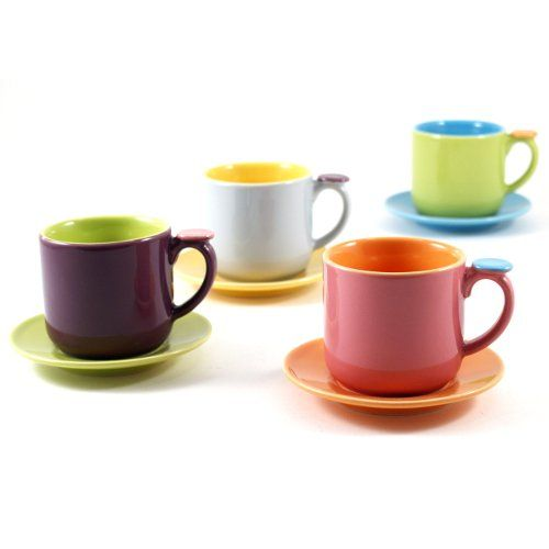 Good For Lighting Project Omniware Hemisphere Demitasse Set Of 4 Omniware Http Www Amazon Com Dp B003ly6d30 Turkish Coffee Cups Coffee Cups Turkish Coffee