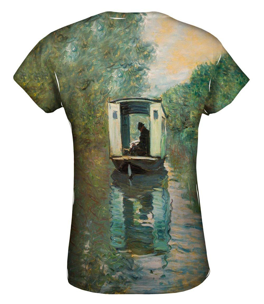 -TShirt- Mens Long Sleeve 1875 Yizzam- Claude Monet La Promenade