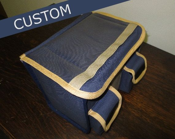 Handmade Randonneur Bicycle Front Rack Bag - Willow Creek - Made to Order