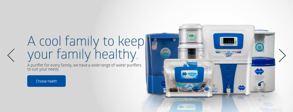Blue mount is a new- age water purifier brand which originates from India. We have taken a challenge to provide 100% pure and healthy water in every household & industries.