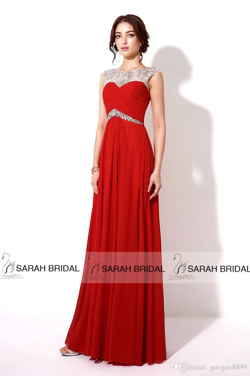 Más de 1000 imágenes sobre vestidos largos rojos en Pinterest