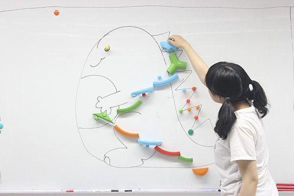 Fun pinball magnetic pinball game for kids design