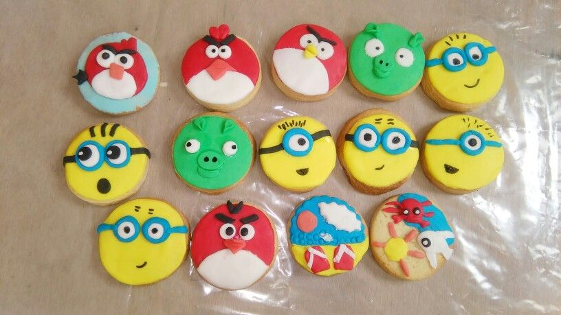 Cookis angry birds