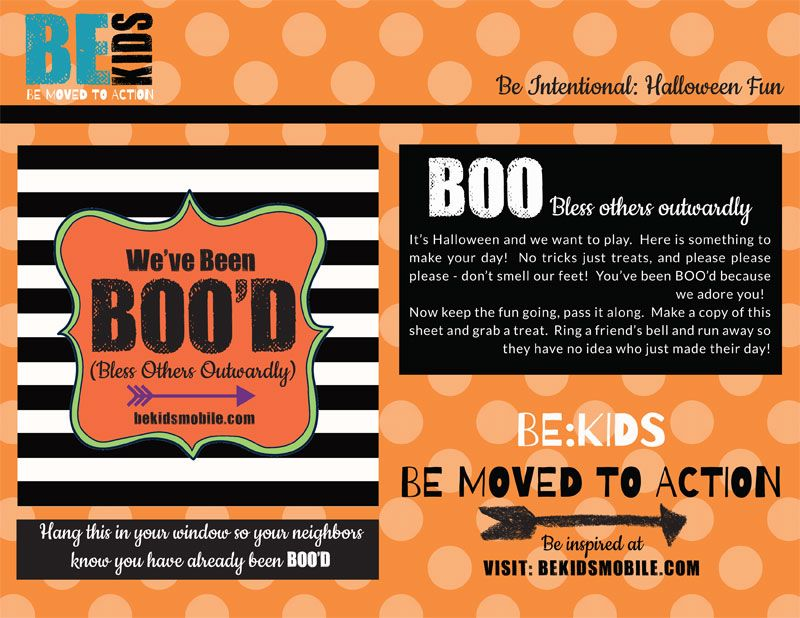 FREE PRINTABLE BOO YOUR NEIGHBORS KIT BOO u003d BLESS OTHERS OUTWARDLY - make a free printable flyer