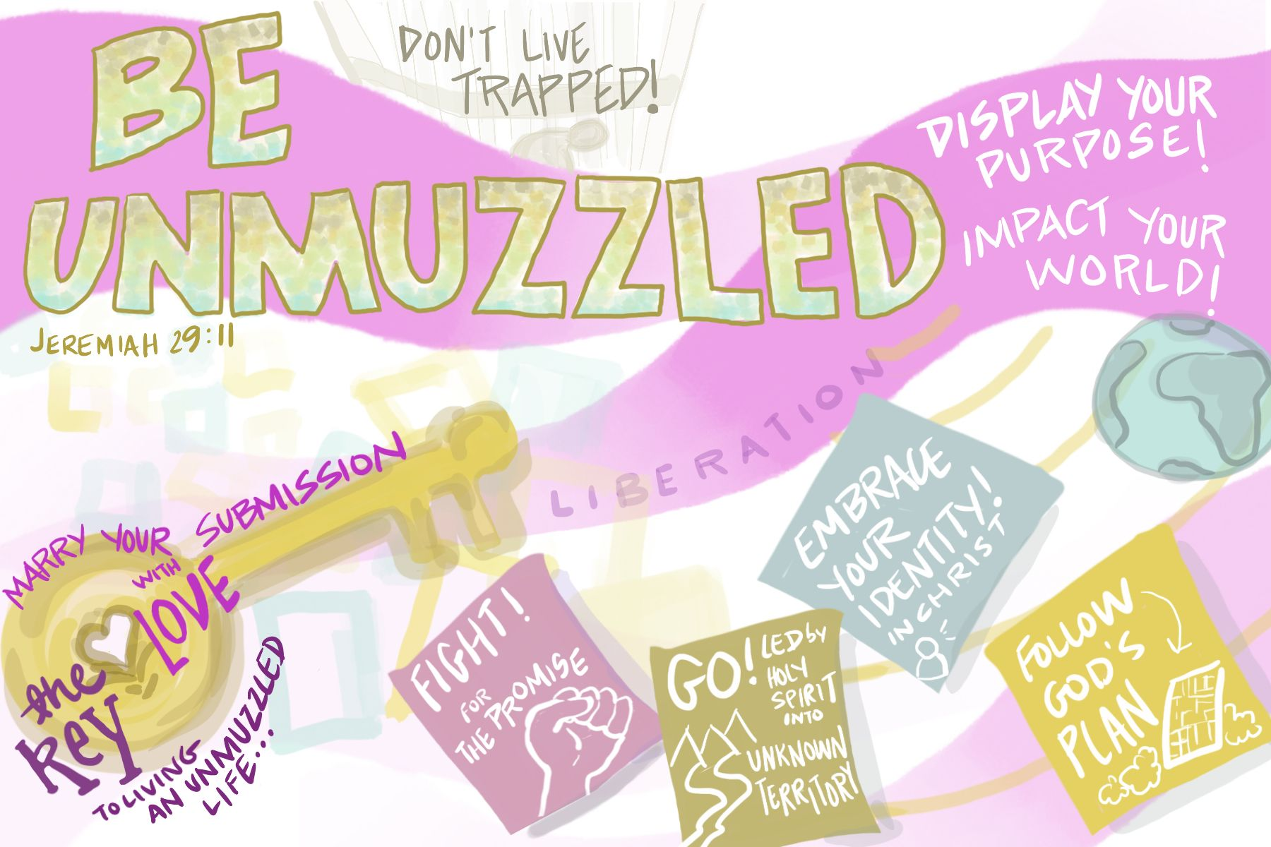 Be Unmuzzled Visual strategy, Sketch notes, Visual